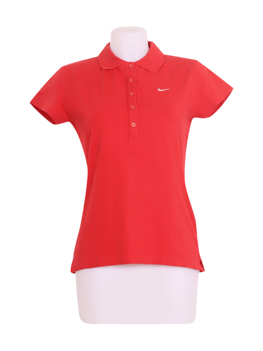 Front photo of Preloved Nike Red Woman's polo - size 10/M
