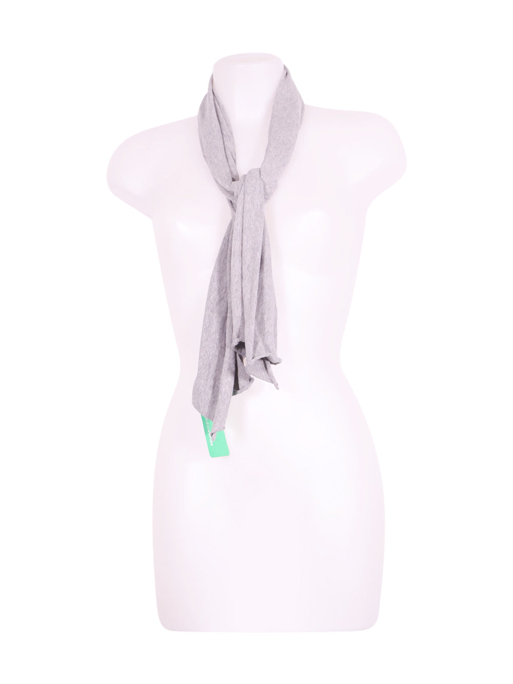 Front photo of Preloved Sisco olive Grey Girl's scarf - size 14-16 yrs