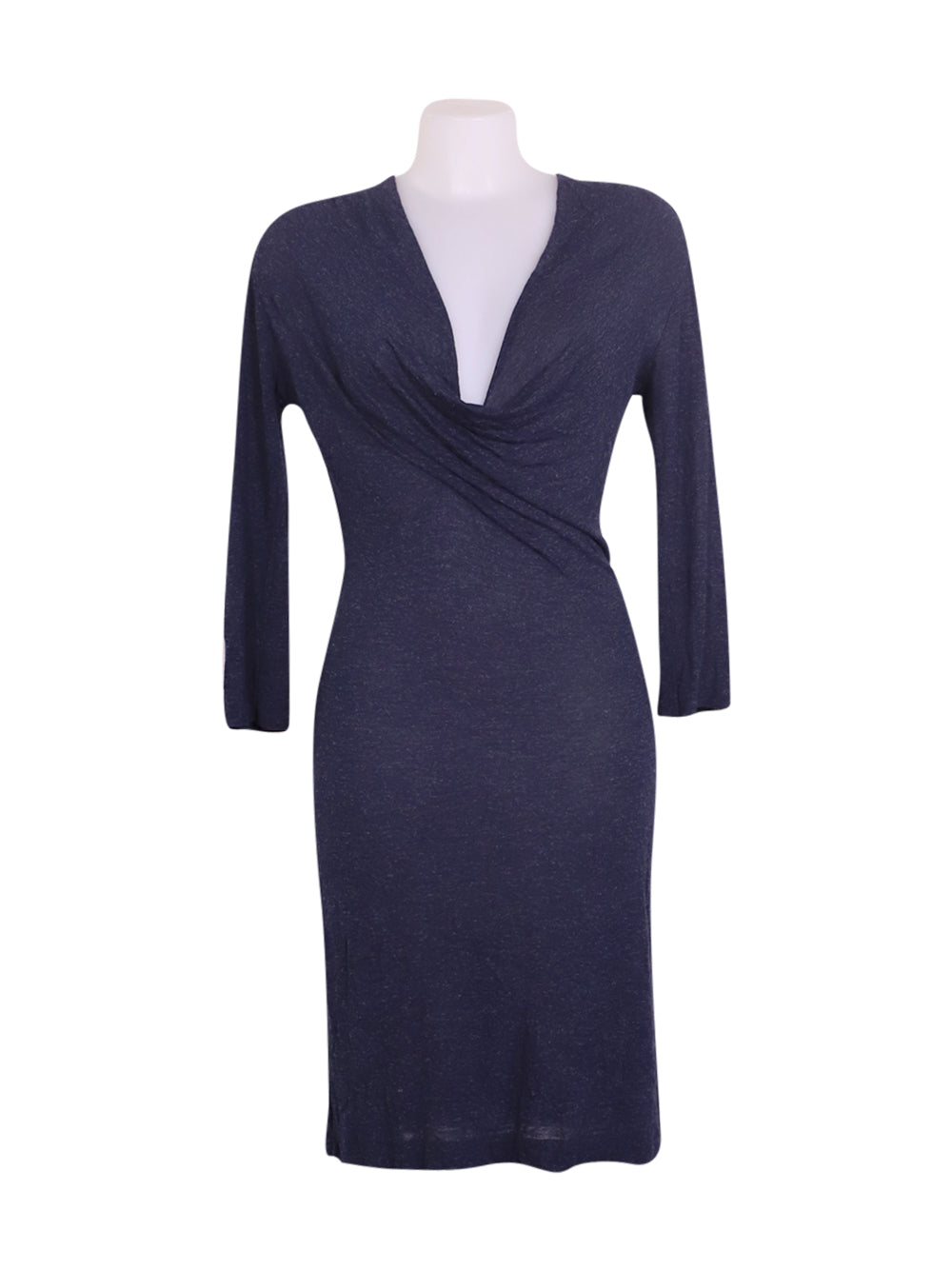Front photo of Preloved Sisley Blue Woman's dress - size 10/M
