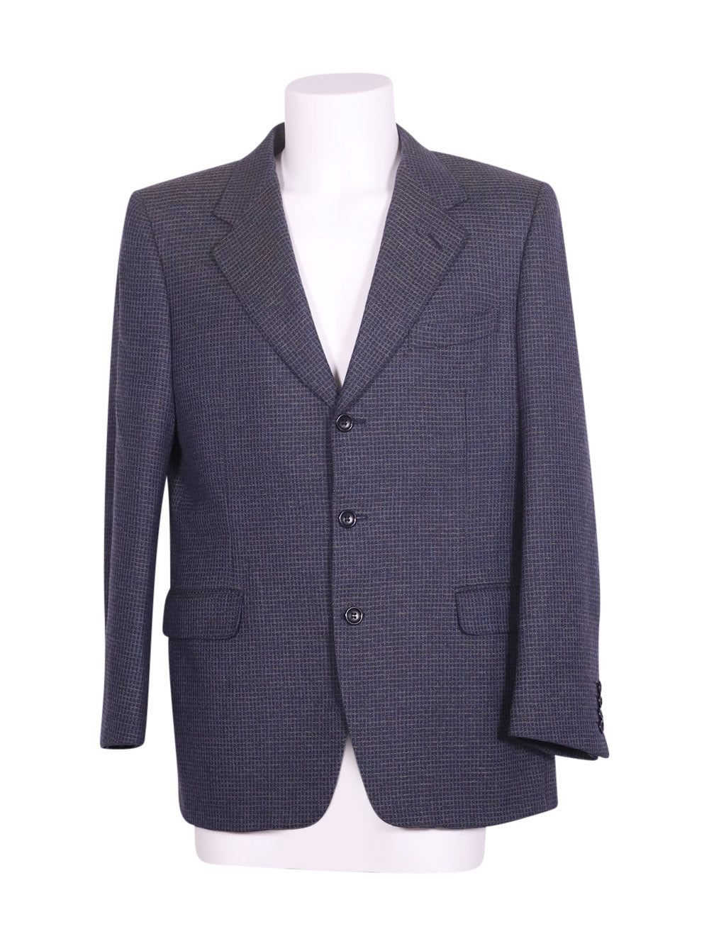 Front photo of Preloved canali Blue Man's blazer - size 40/L