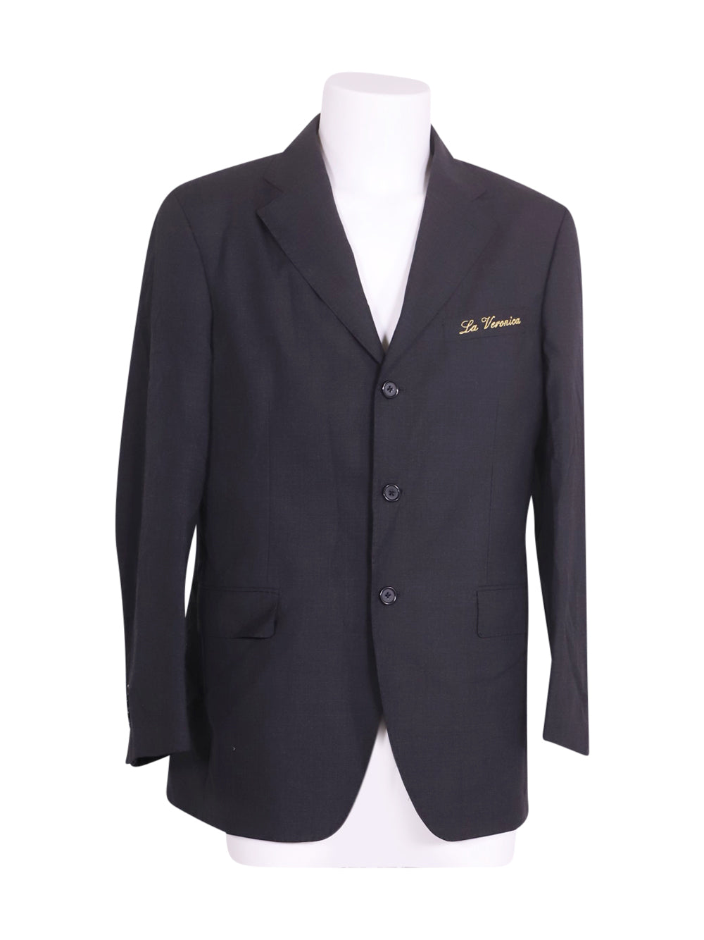 Front photo of Preloved Vitale barberis canonico Grey Man's blazer - size 40/L