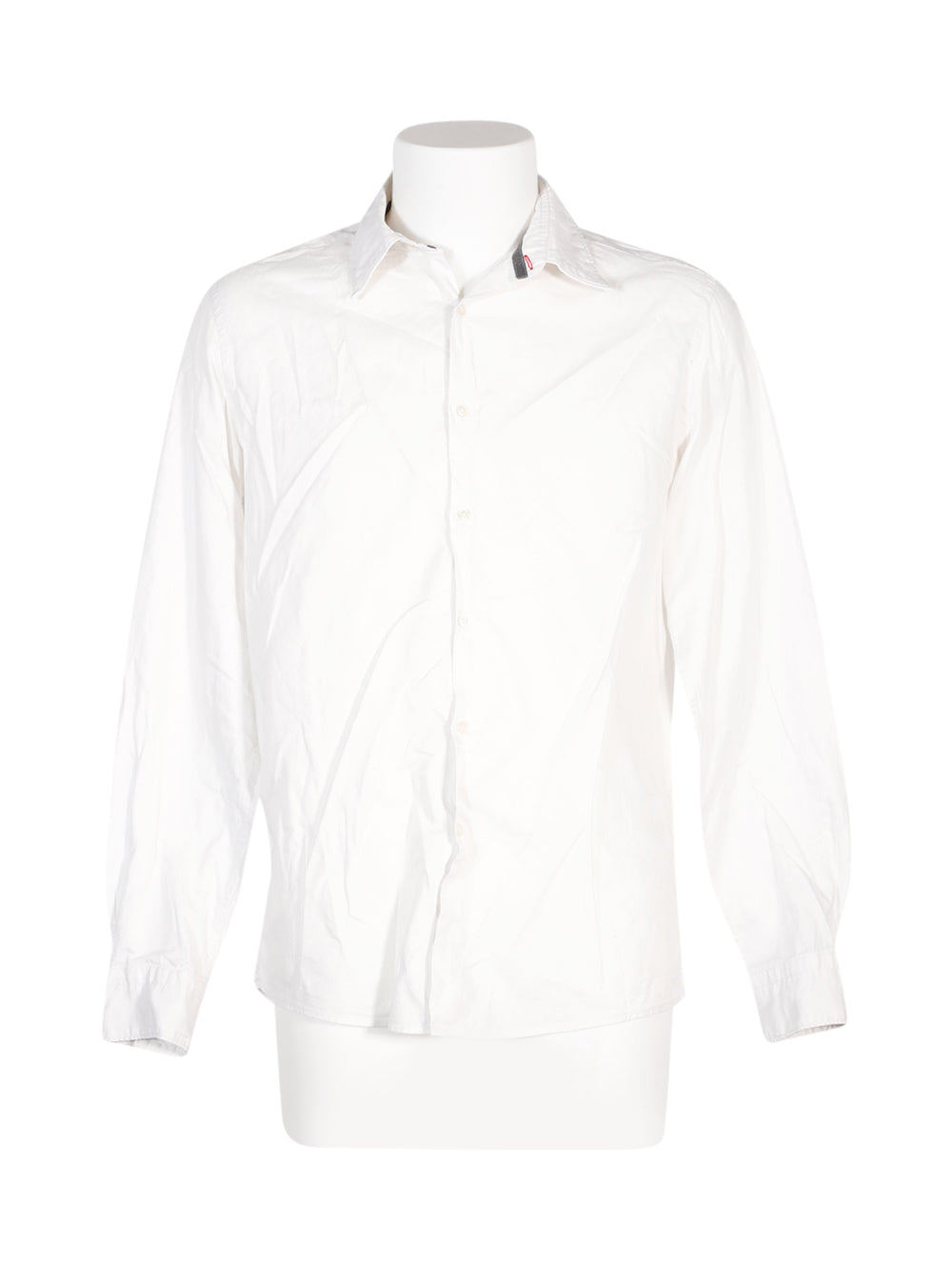Front photo of Preloved golf club White Man's shirt - size 40/L
