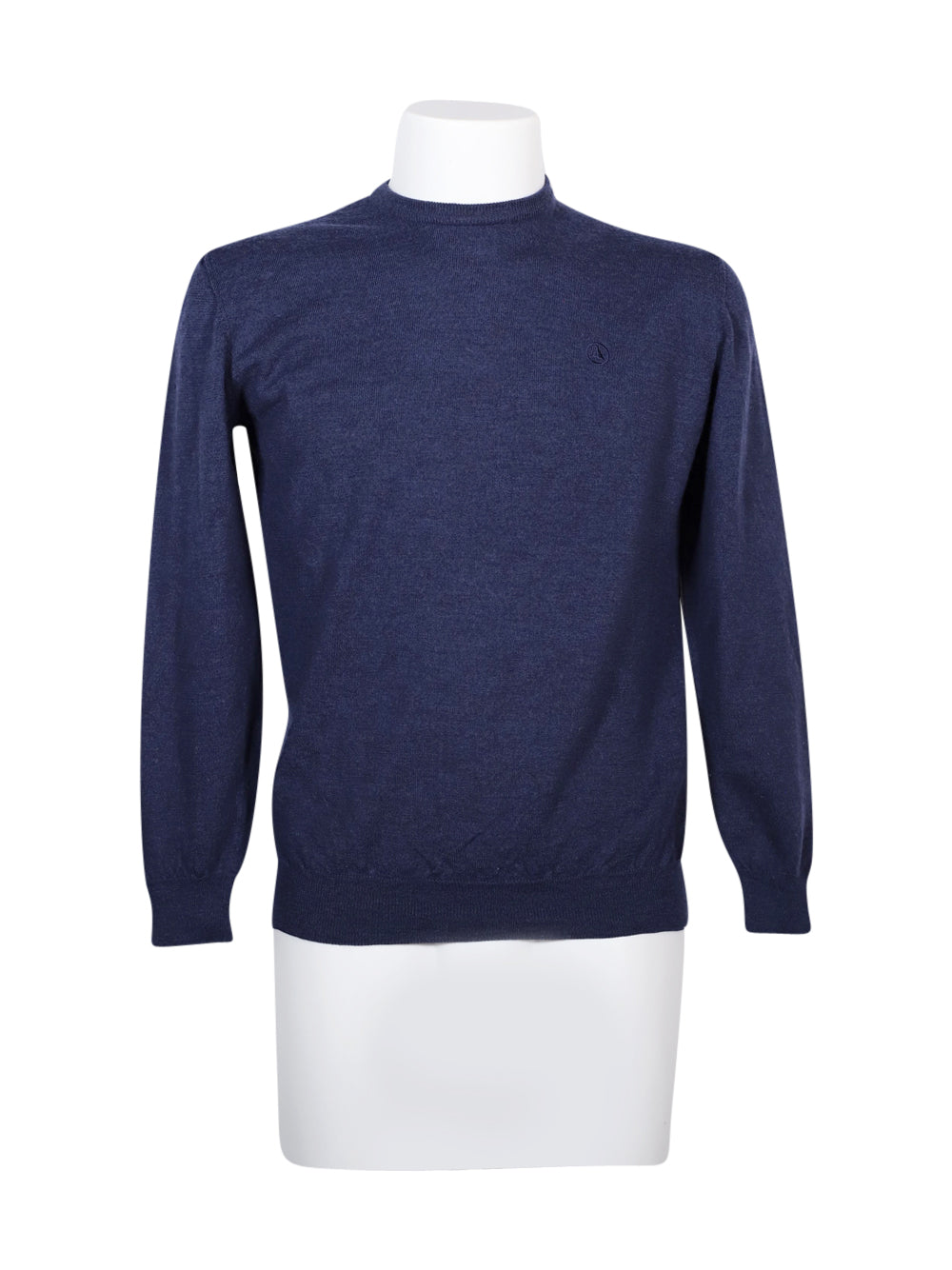 Front photo of Preloved Ivy Oxford Blue Man's sweater - size 40/L
