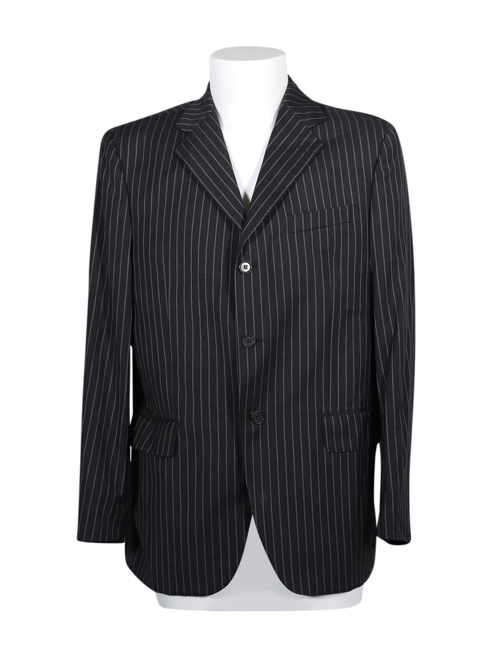 Front photo of Preloved Luca D'altieri (Coin) Black Man's blazer - size 42/XL