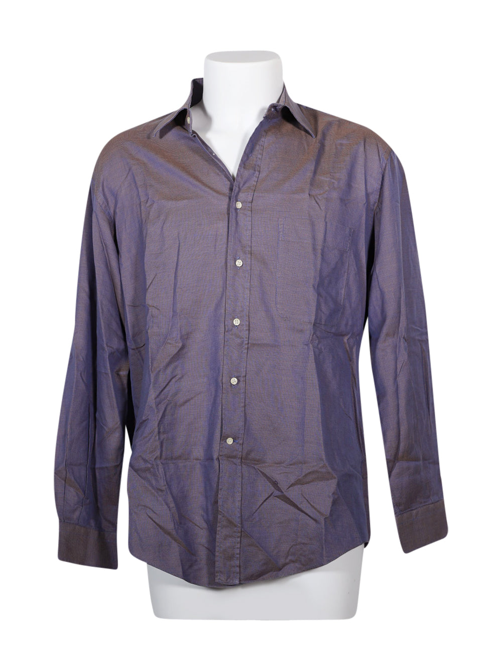 Front photo of Preloved Ermenegildo zegna Violet Man's shirt - size 32/XXS