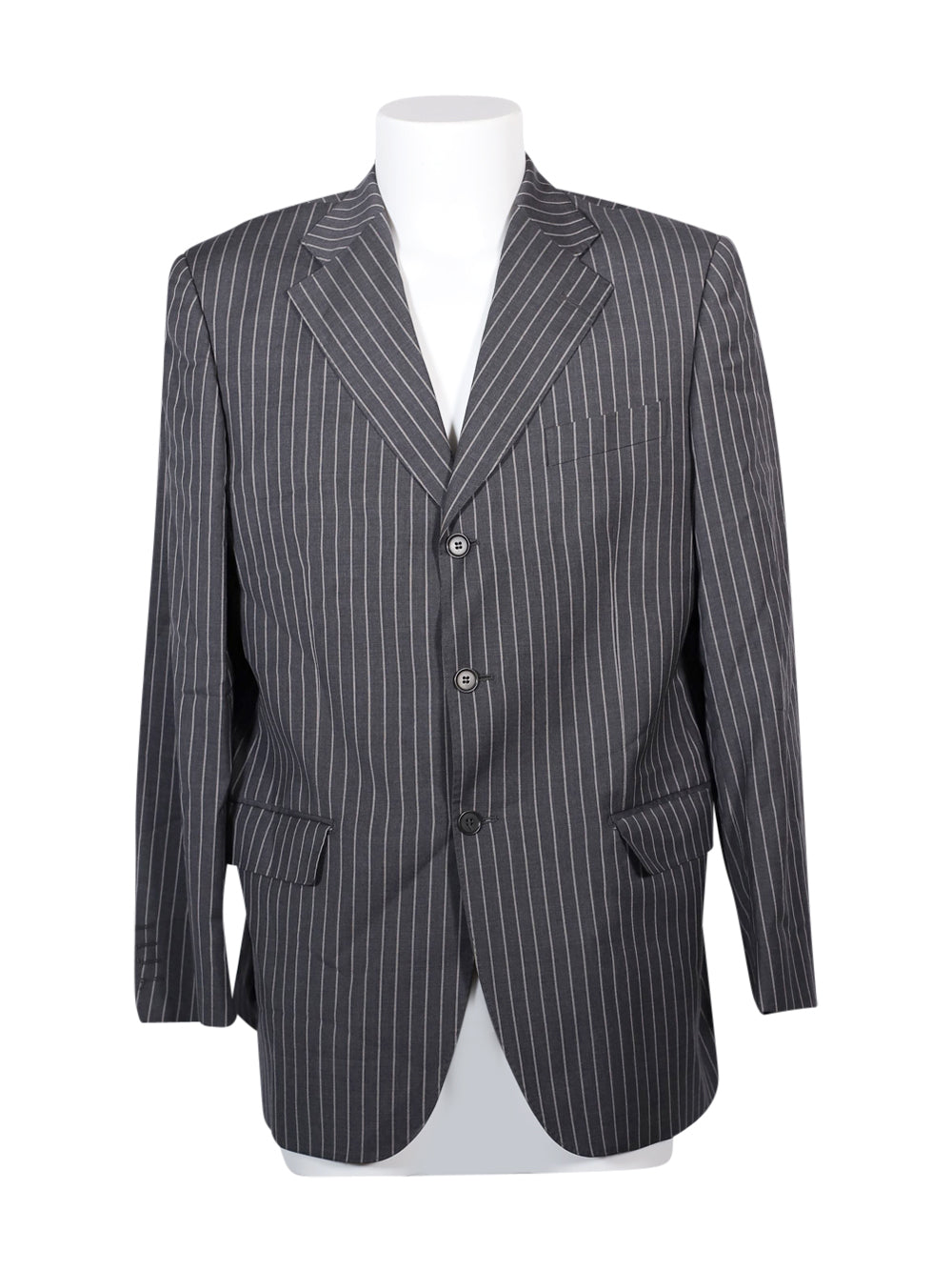 Front photo of Preloved Falcai Grey Man's blazer - size 42/XL