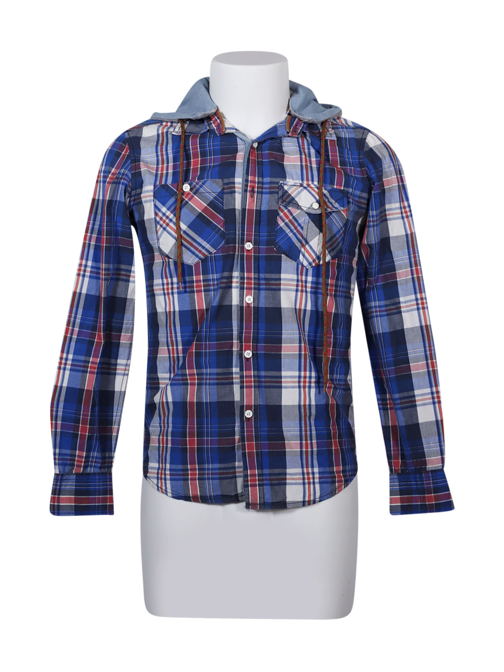 Front photo of Preloved ALCOTT&CO Blue Man's shirt - size 40/L