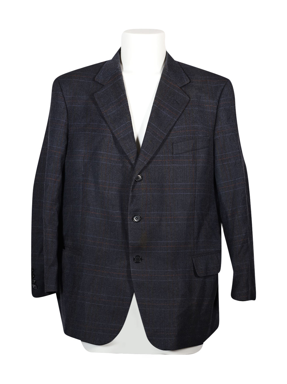 Front photo of Preloved Lanificio Campore Blue Man's blazer - size 46/XXXL