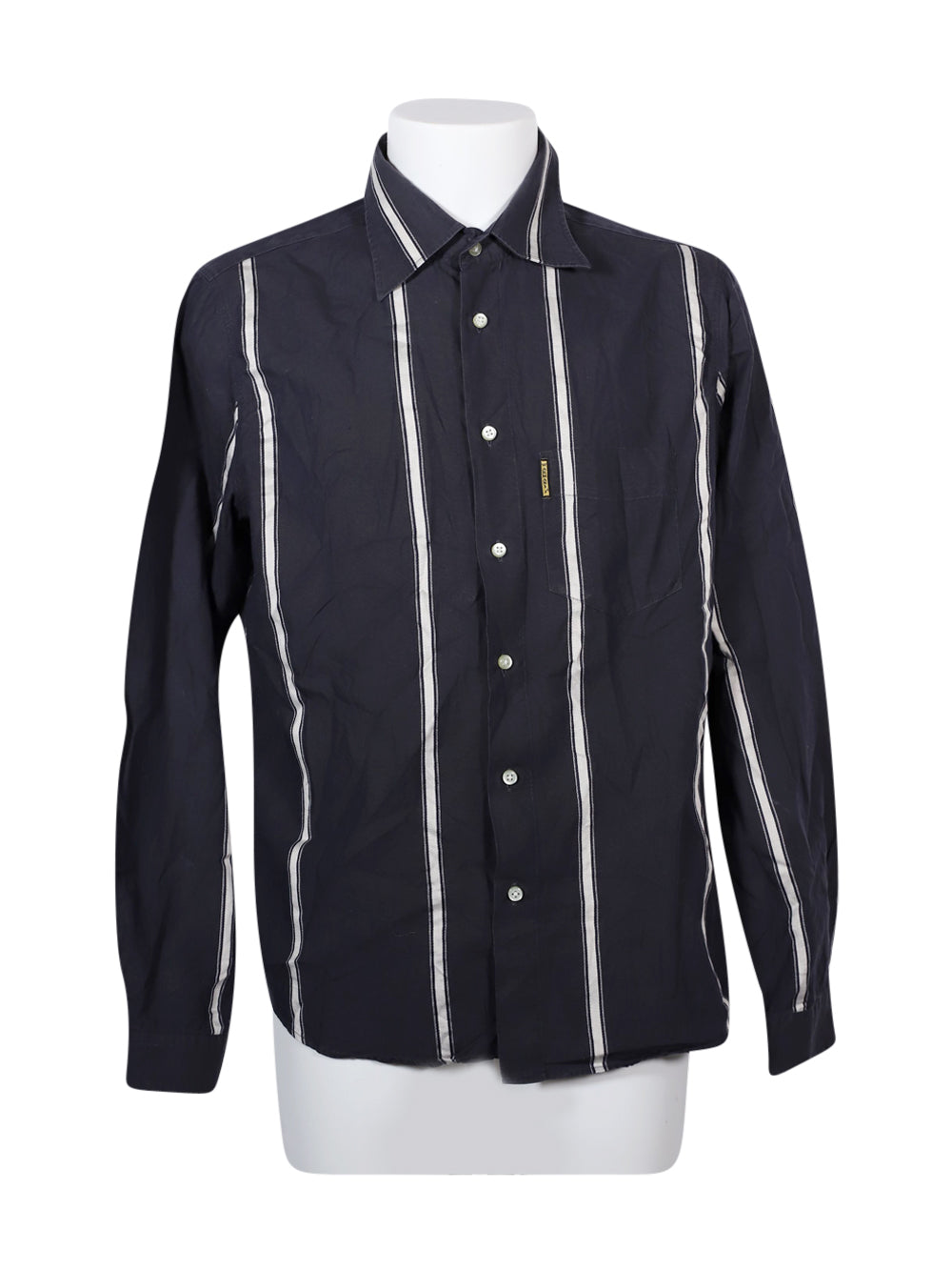 Front photo of Preloved Armani Grey Man's shirt - size 44/XXL