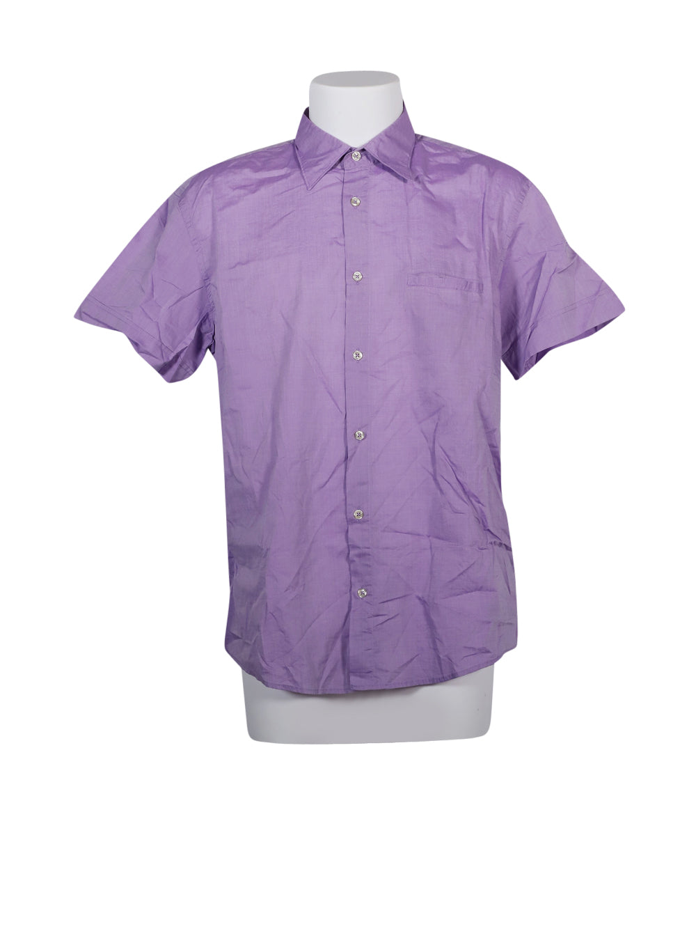 Front photo of Preloved Marlboro Classics Violet Man's shirt - size 42/XL