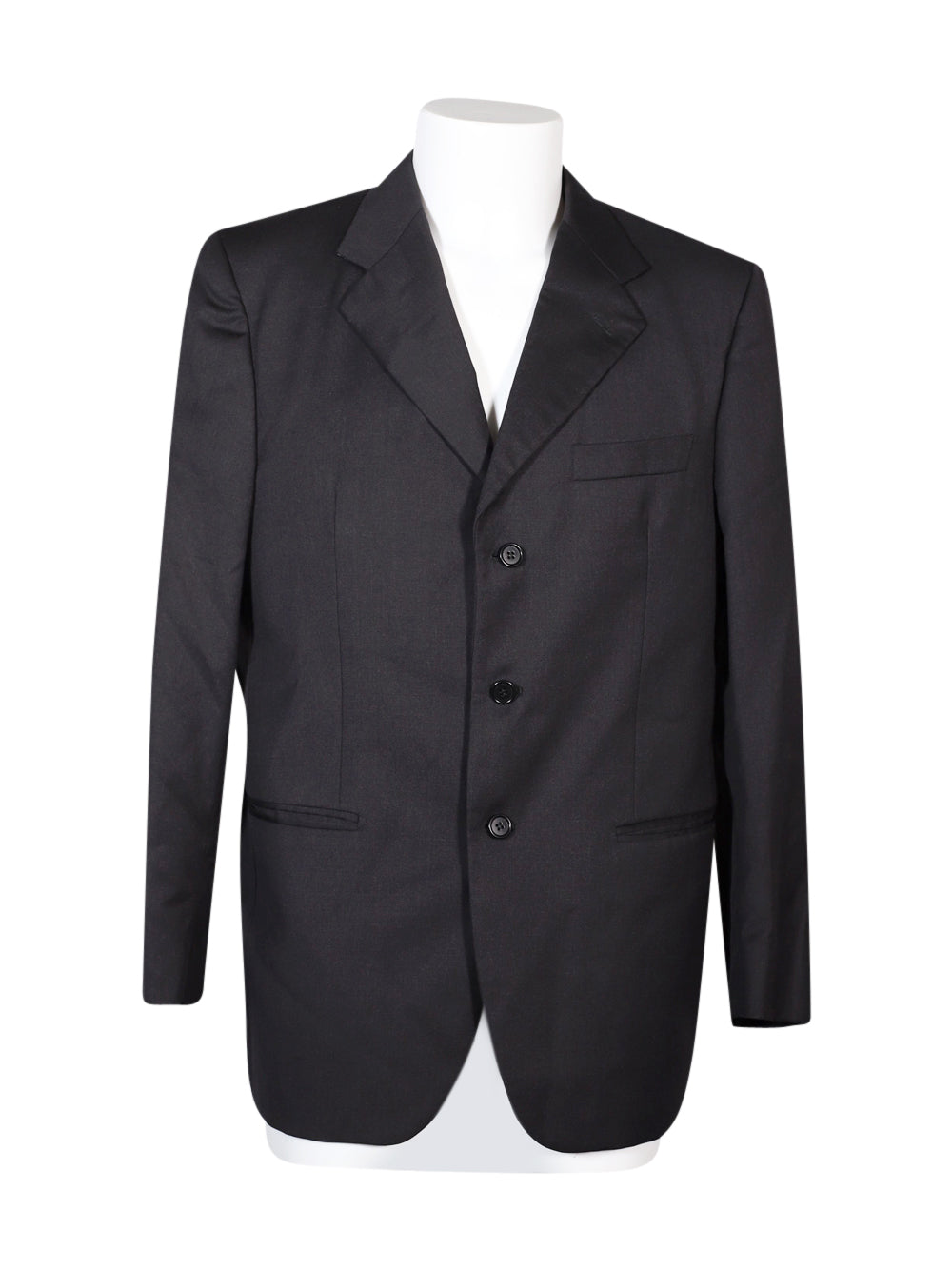Front photo of Preloved angelico Black Man's blazer - size 42/XL