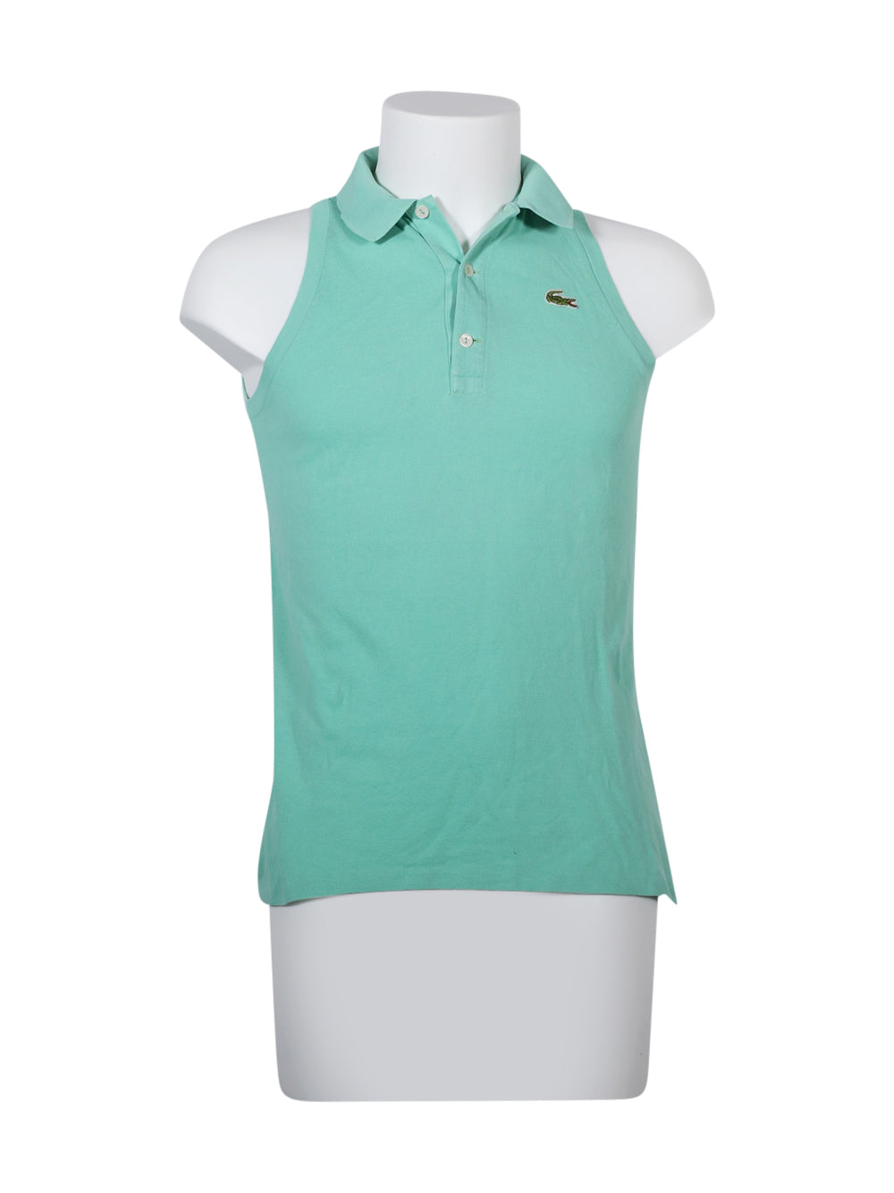 Front photo of Preloved Lacoste Light-blue Man's polo - size 32/XXS