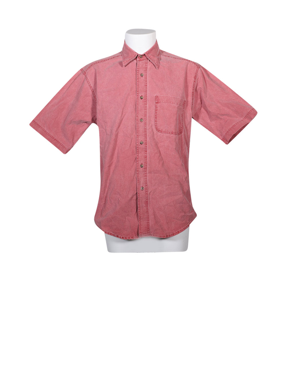 Front photo of Preloved Woolrich Pink Man's shirt - size 38/M