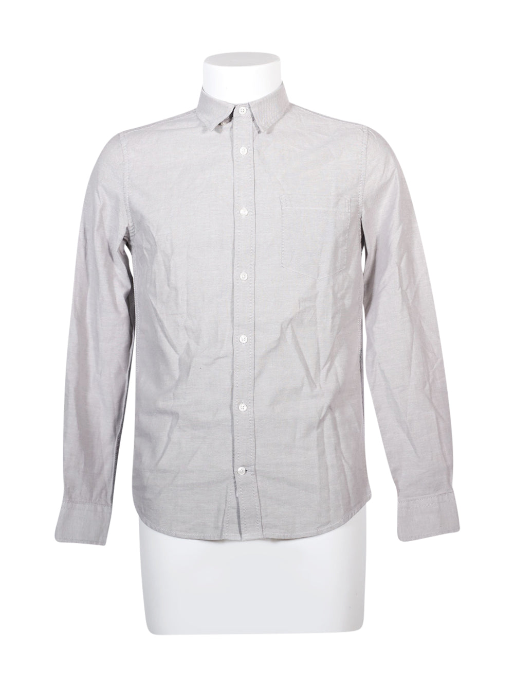 Front photo of Preloved Burton Grey Man's shirt - size 36/S