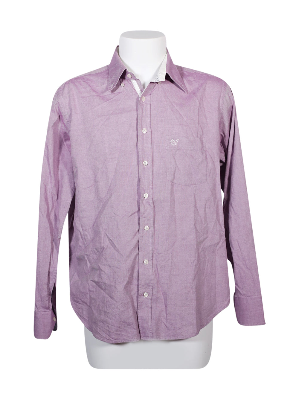 Front photo of Preloved caporiccio Pink Man's shirt - size 42/XL