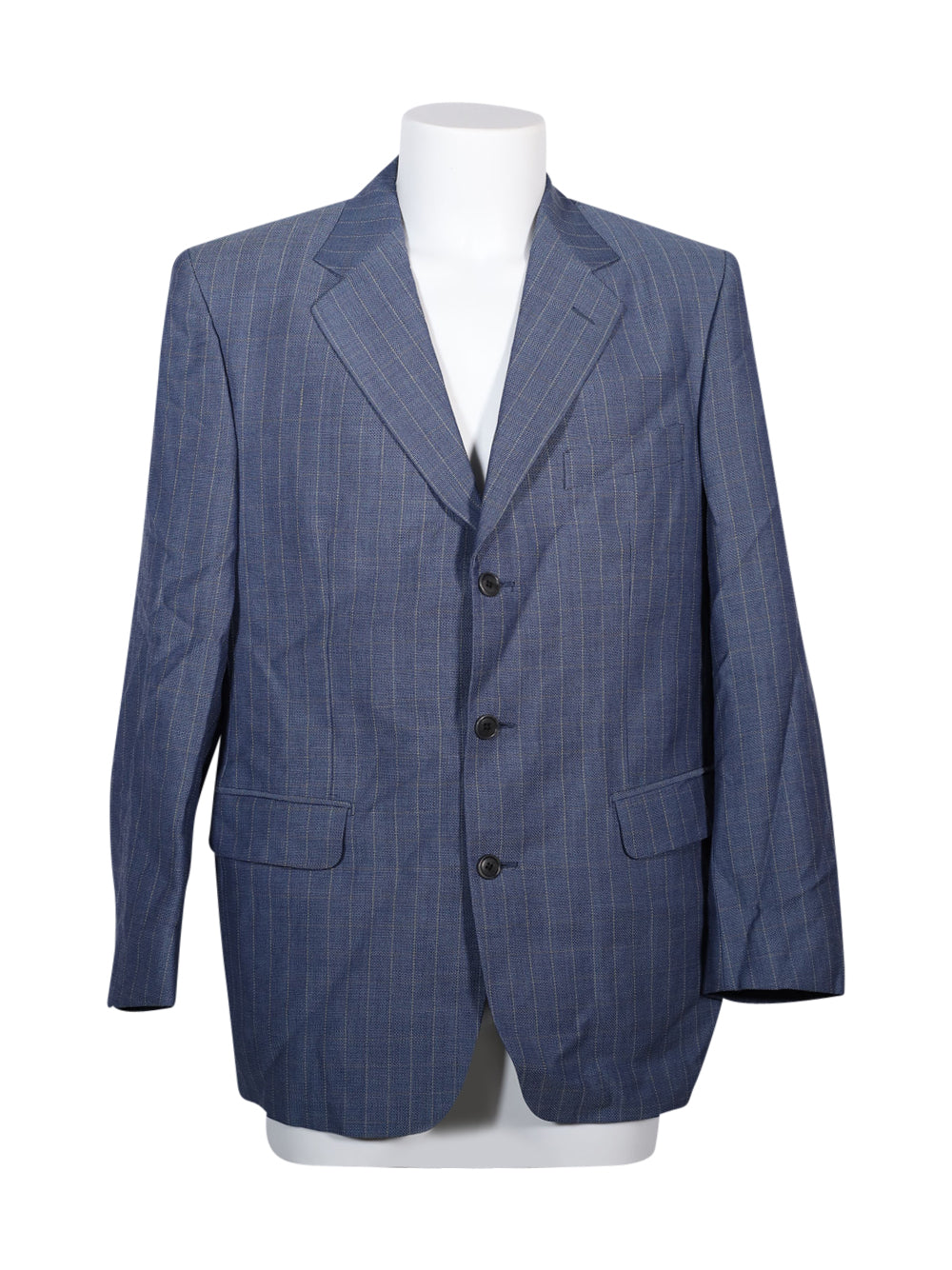 Front photo of Preloved Osvaldo Testa Blue Man's blazer - size 42/XL