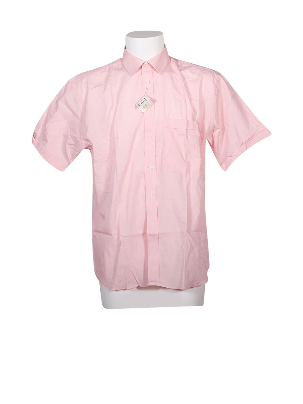 Front photo of Unworn dino erre Pink Man's shirt - size 42/XL