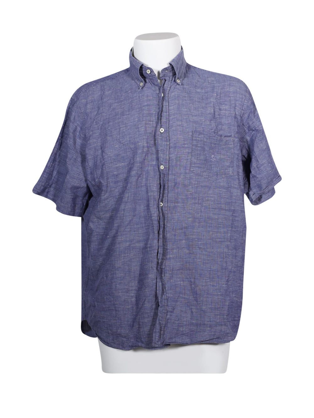 Front photo of Preloved Brooksfield Blue Man's shirt - size 38/M