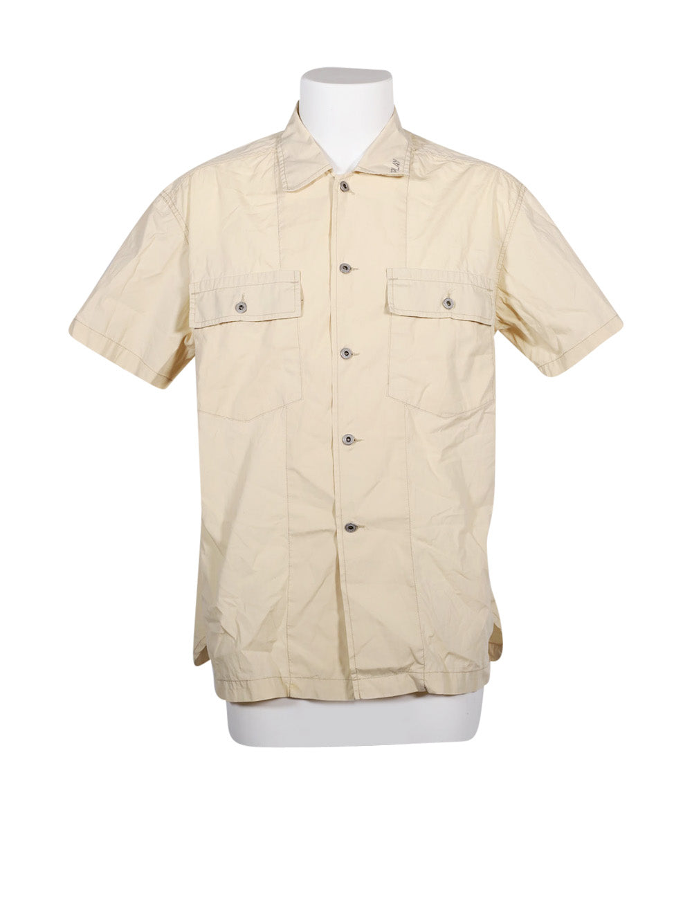 Front photo of Preloved Replay Beige Man's shirt - size 42/XL