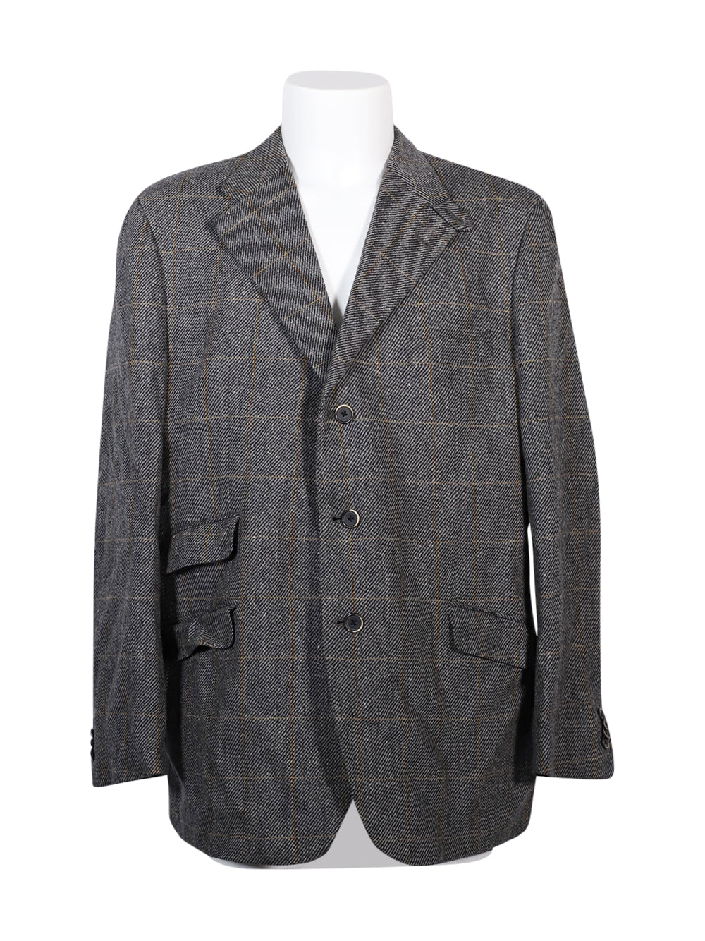 Front photo of Preloved Corneliani Grey Man's blazer - size 42/XL