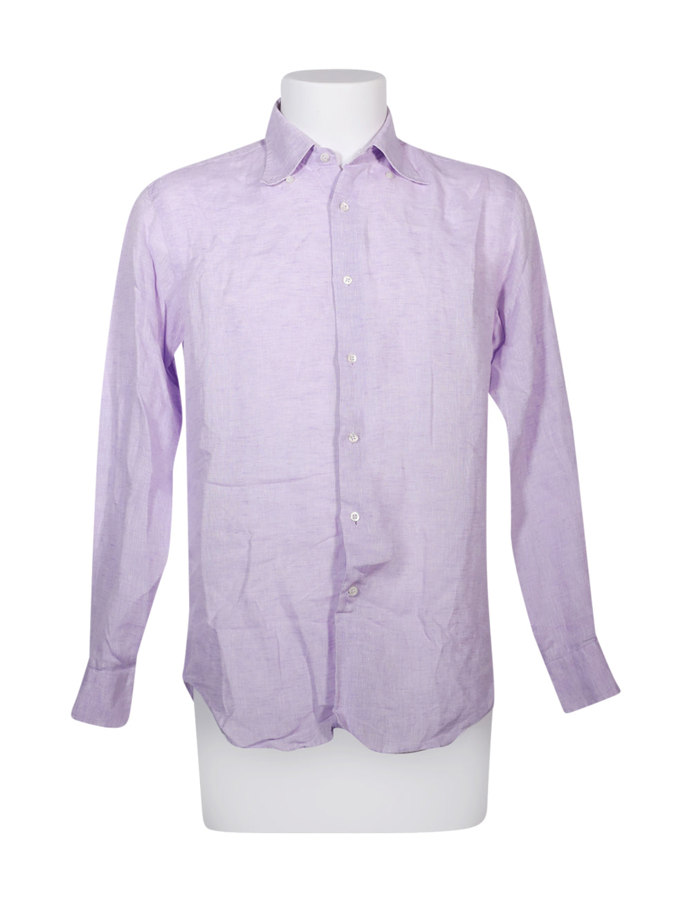 Front photo of Preloved Bagutta Violet Man's shirt - size 40/L