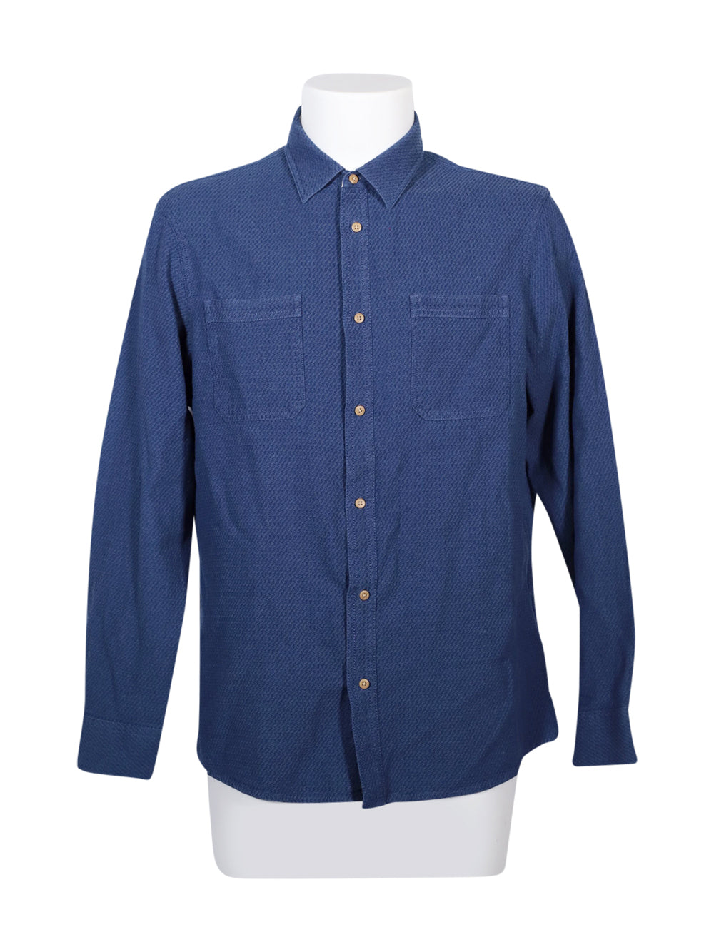 Front photo of Preloved LIVERGY Blue Man's shirt - size 40/L