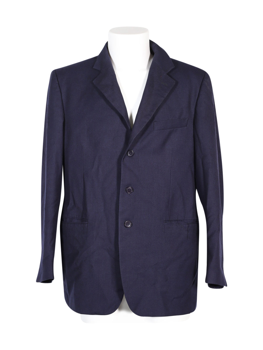Front photo of Preloved tiemme Blue Man's blazer - size 42/XL