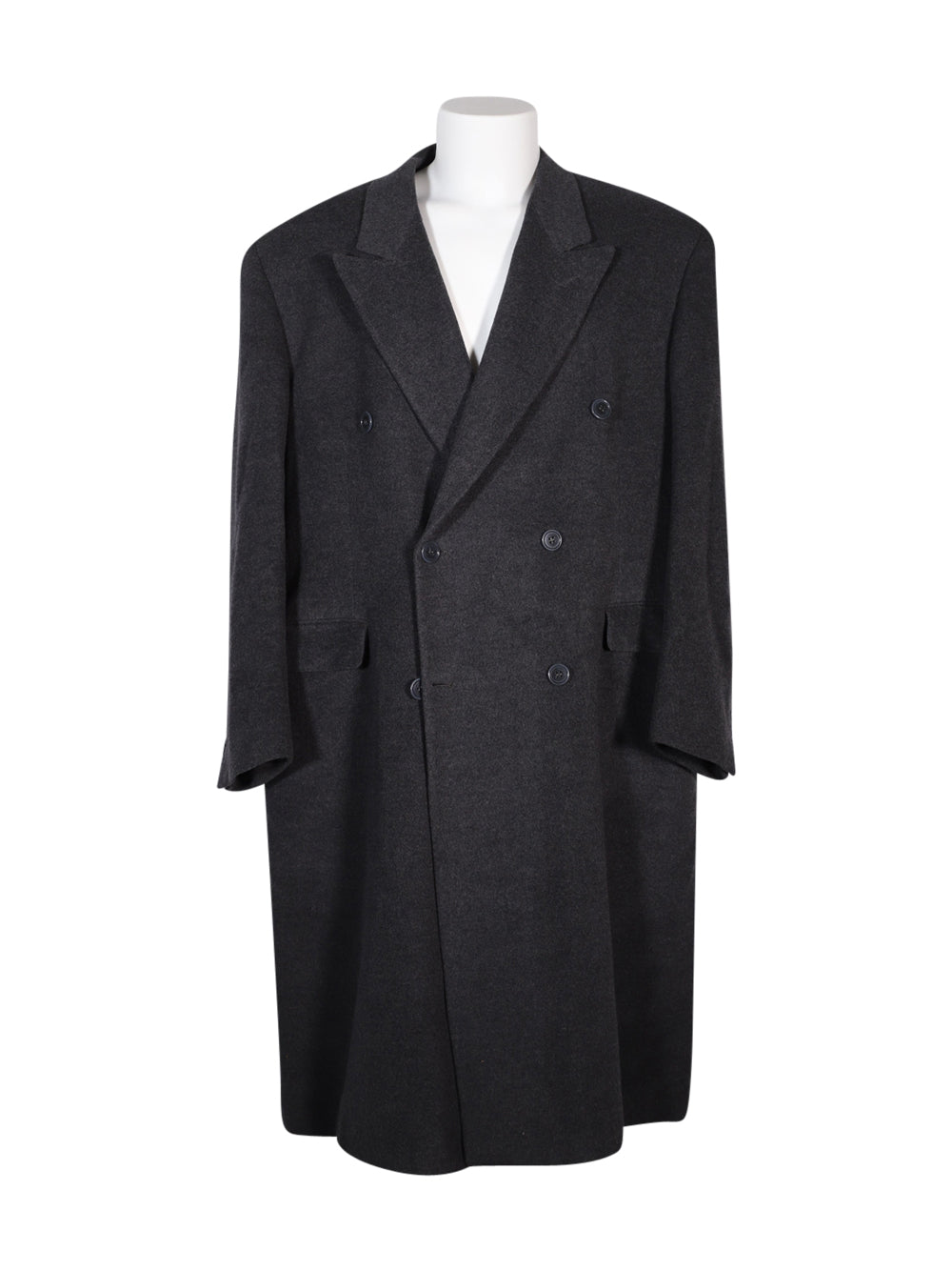 Front photo of Preloved callaghan's Grey Man's coat - size 46/XXXL