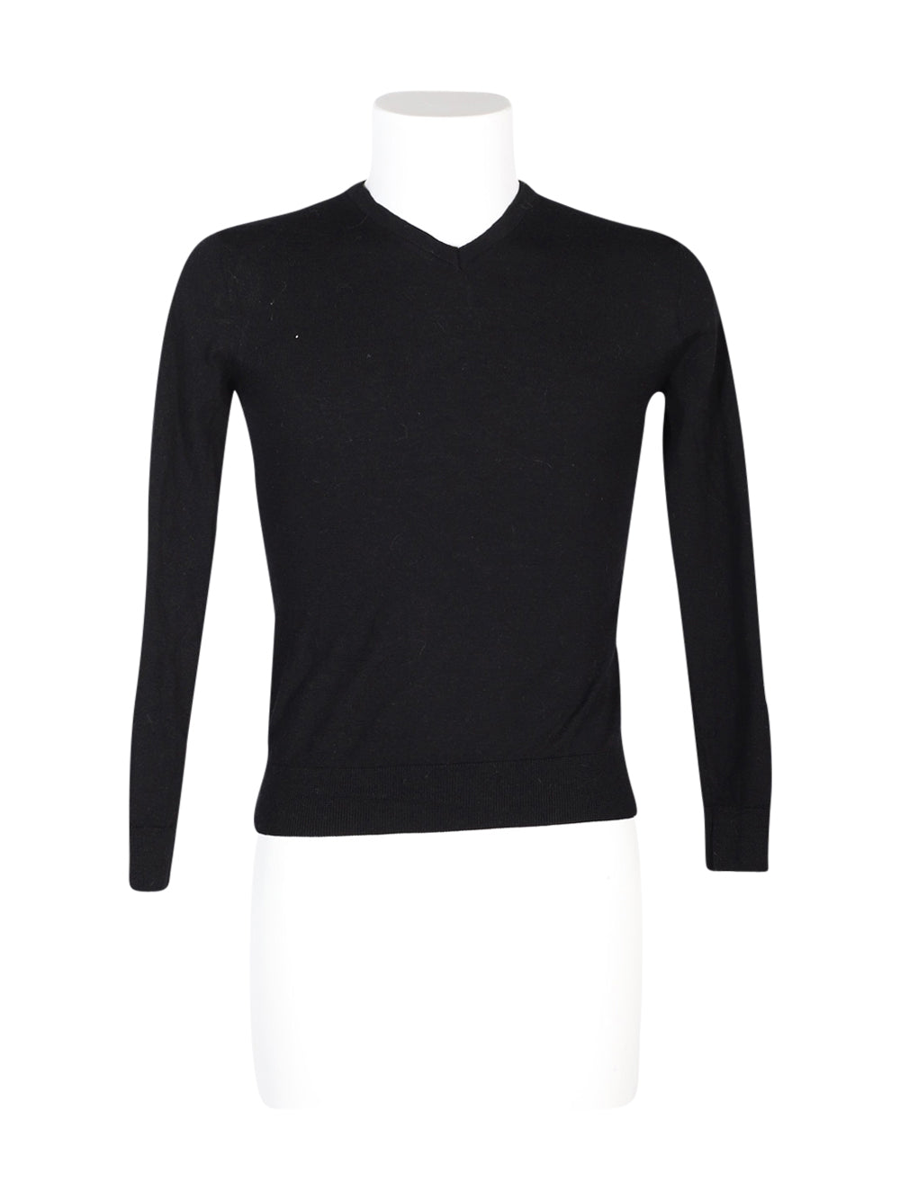 Front photo of Preloved Zara Black Man's sweater - size 36/S