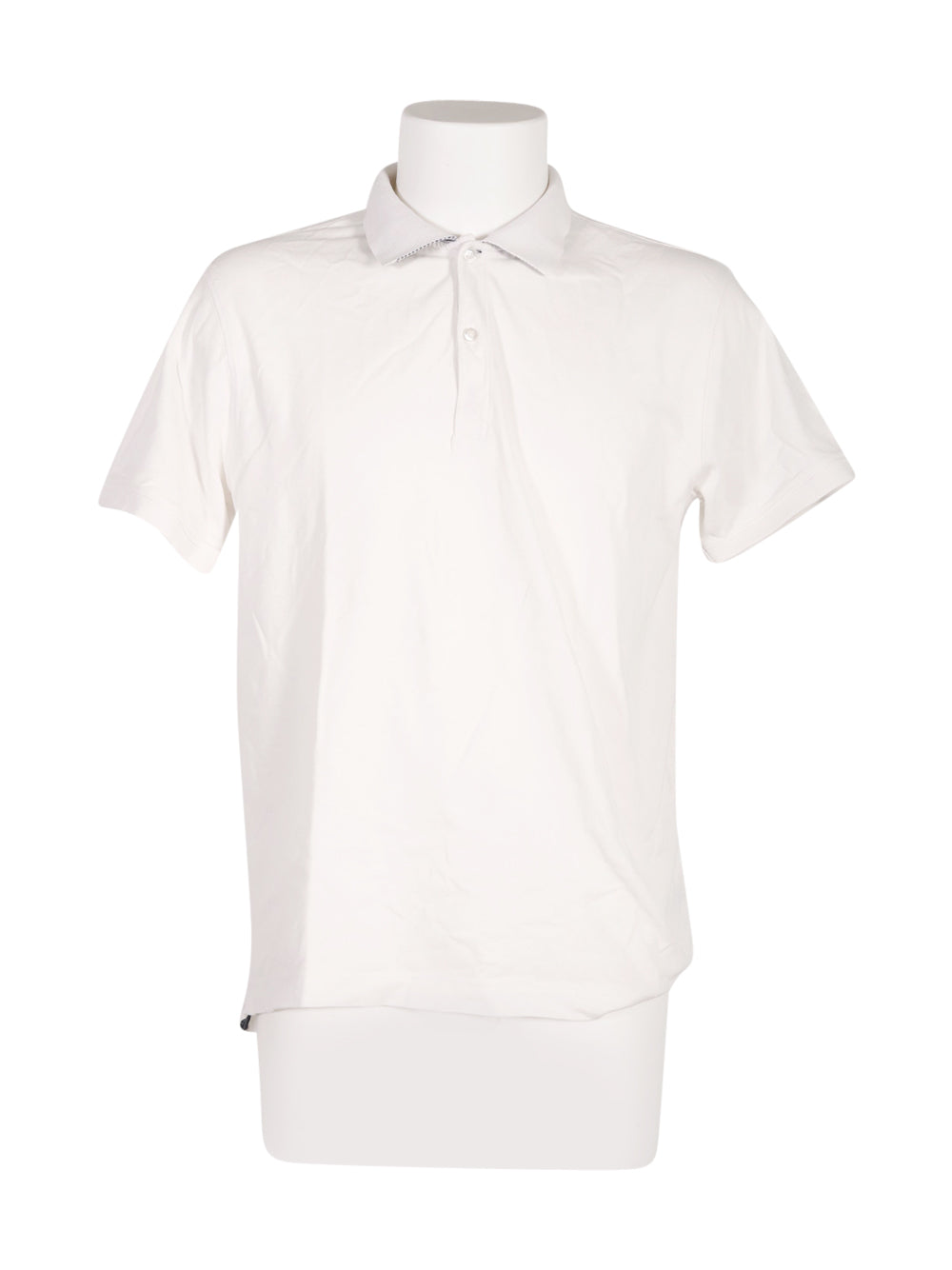Front photo of Preloved dan john White Man's polo - size 40/L