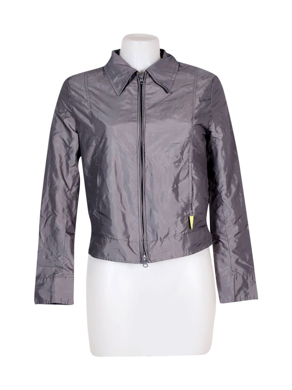 Front photo of Preloved Miss Sixty Grey Woman's jacket - size 10/M