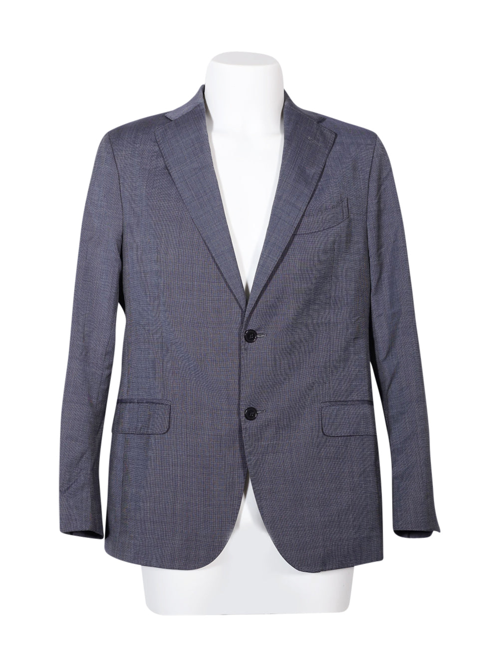 Front photo of Preloved Boggi Milano Blue Man's blazer - size 40/L