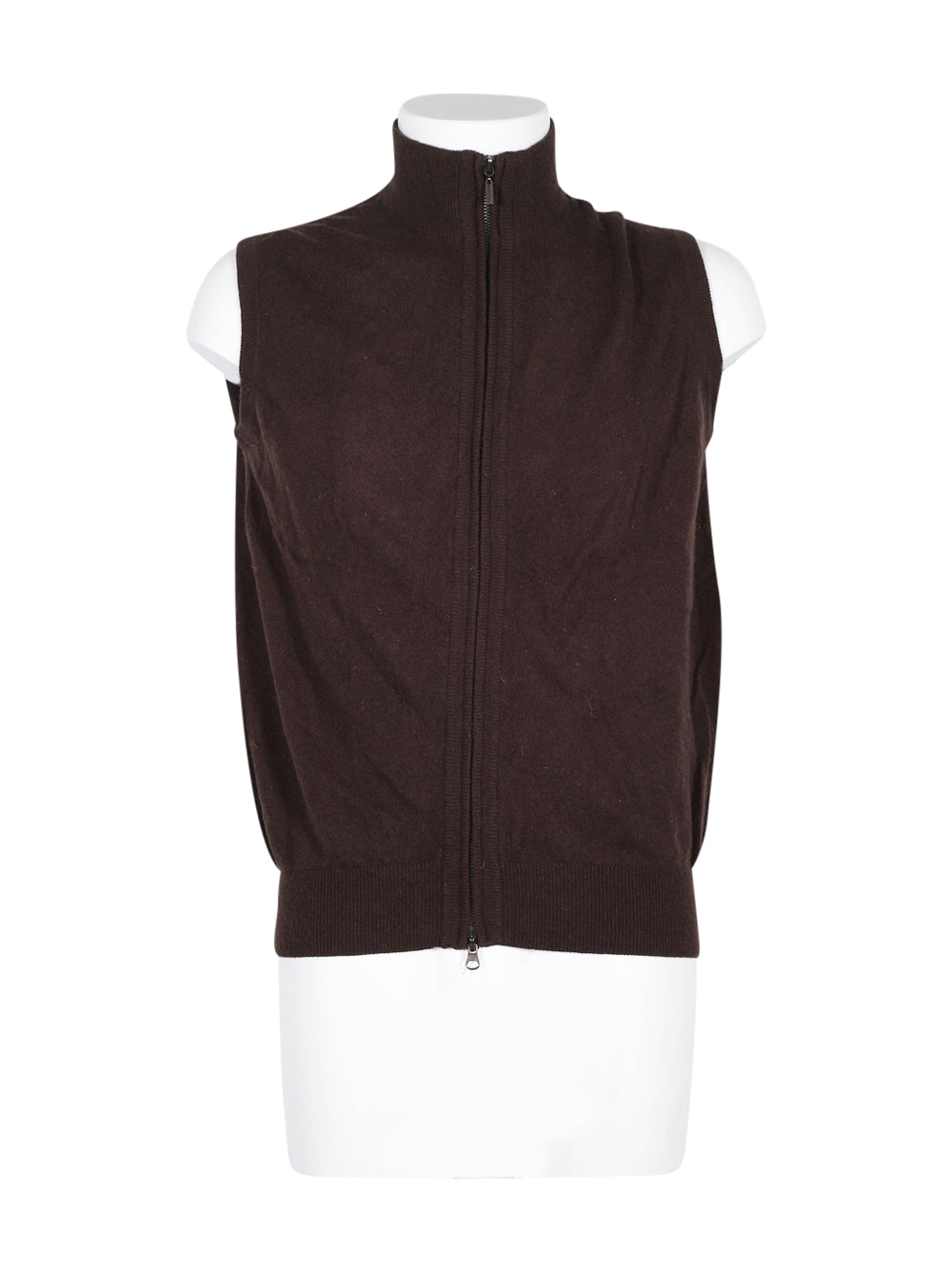 Front photo of Preloved invidia uomo Brown Man's waistcoat - size 38/M