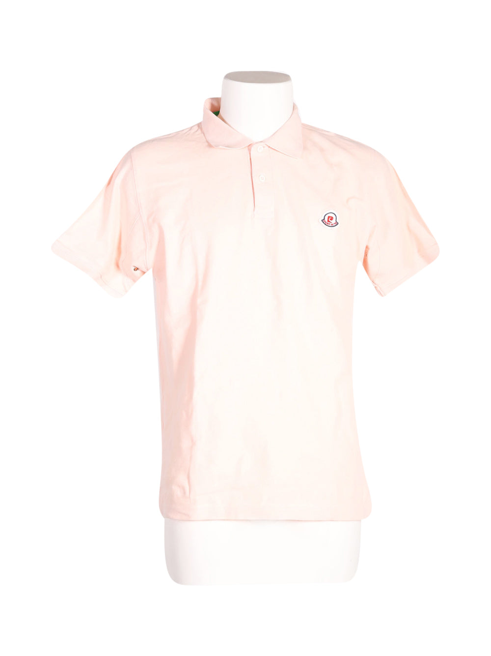 Front photo of Preloved Pierre Cardin Pink Man's polo - size 38/M