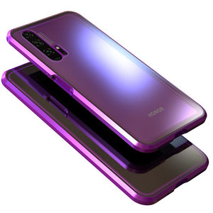 coque magnetique honor violet