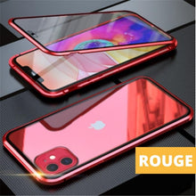 Charger l'image dans la galerie, Coque Magnetique Iphone Rouge