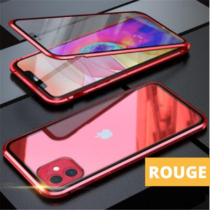 Coque Magnetique Iphone Rouge