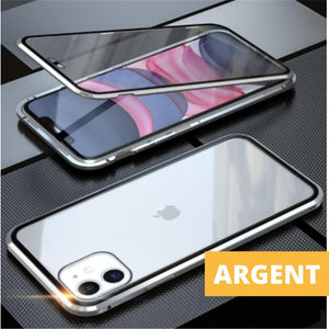 Coque Magnetique Iphone Gris
