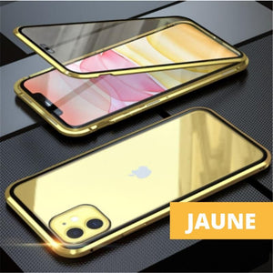 Coque Magnetique Iphone Or jaune
