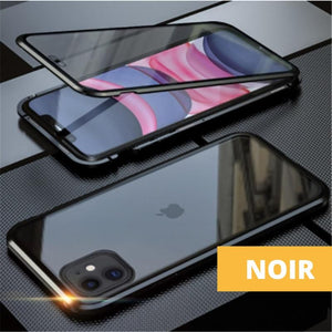 Coque Magnetique Iphone Noir