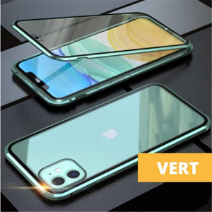 Coque Magnetique Iphone Vert