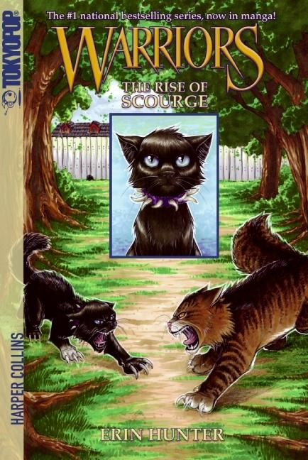 Warriors Manga: The Rise of Scourge by Erin Hunter