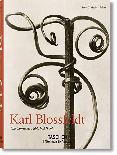 Blossfeldt (Taschen): The Complete Published Work by Hans Christian Adam - hardcvr
