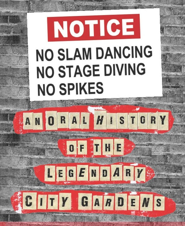 No Slam Dancing, No Stage Diving, No Spikes - Signed!
