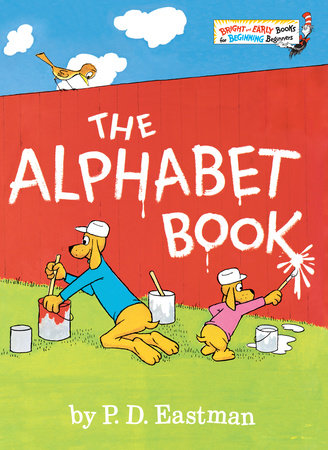 The Alphabet Book by P.D. Eastman - hardcvr