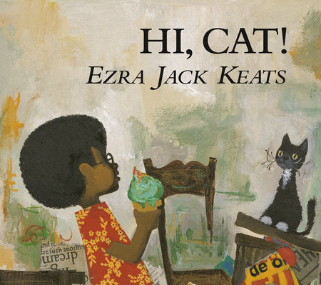 Hi, Cat! by Ezra Jack Keats - hardcvr