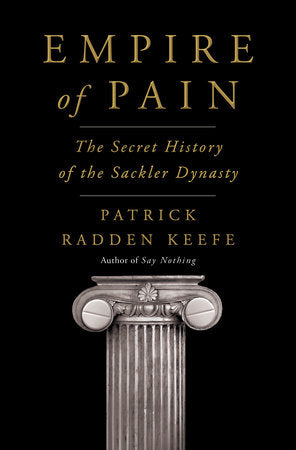 Empire of Pain by Patrick Radden Keefe - hardcvr