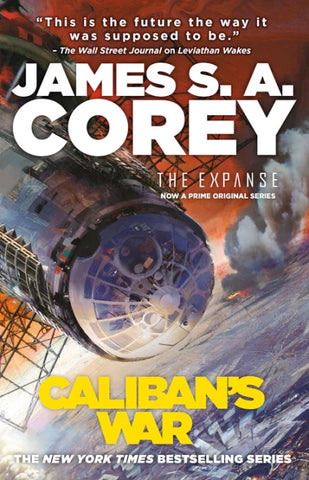 The Expanse #2 - Caliban's War by James S.A. Corey