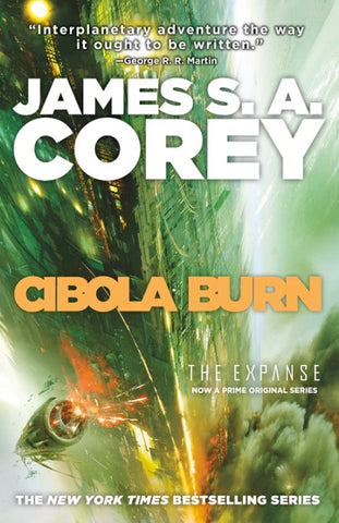 The Expanse #4 - Cibola Burn by James S.A. Corey