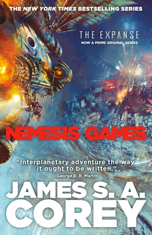 The Expanse #5 - Nemesis Games by James S.A. Corey